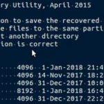 5-2-6:保存先のハードディスクを選択し、Enterを押す。(例:E022...)