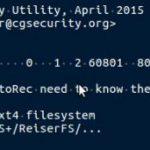 5-2-3:NTFSなので「Other」を選択し、Enterを押す。